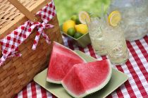 healthy summer picnic