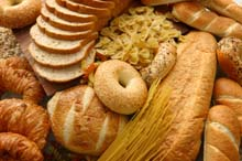breads with gluten