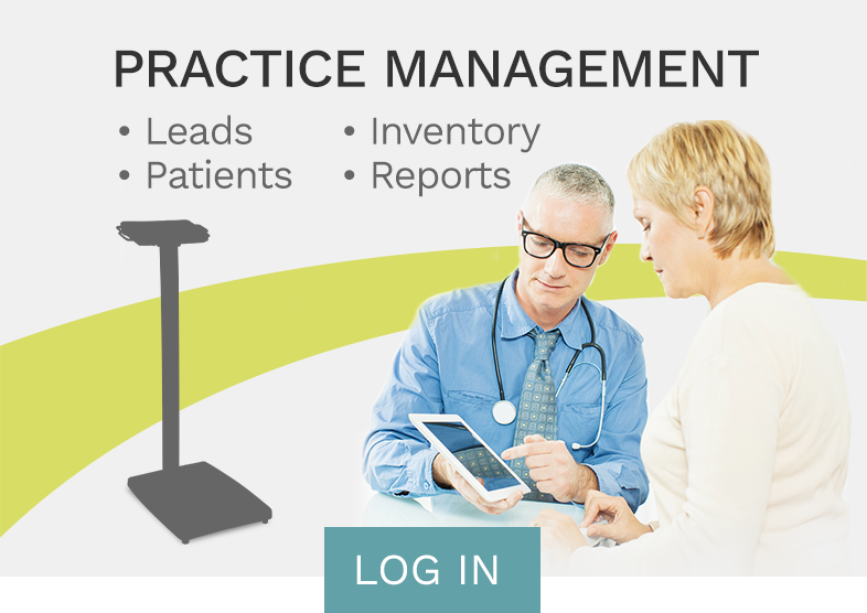 Practice Management Log In Button