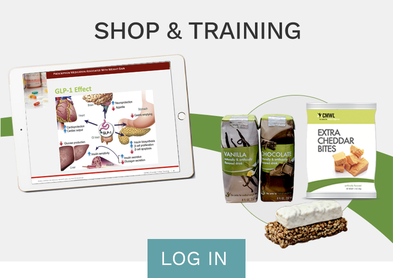 Shop Training Log In Button