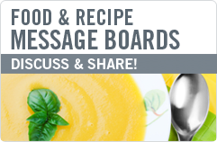 Food and Recipe Message Boards